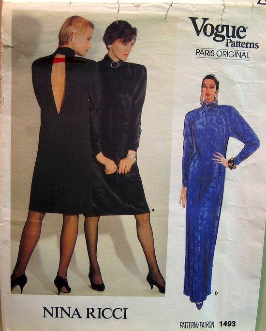 Vogue 1493 Front