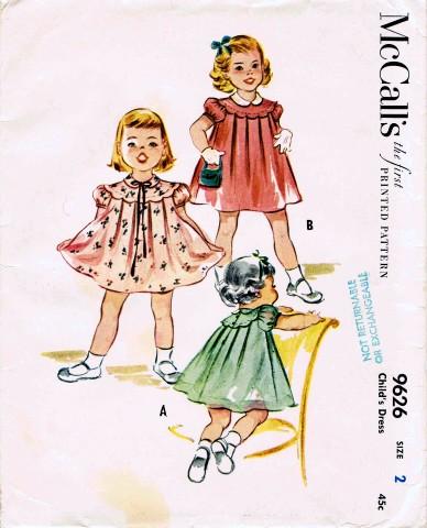 McCalls 1953 9626