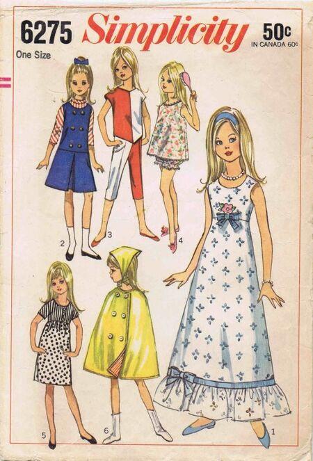 Simplicity 1965 6275
