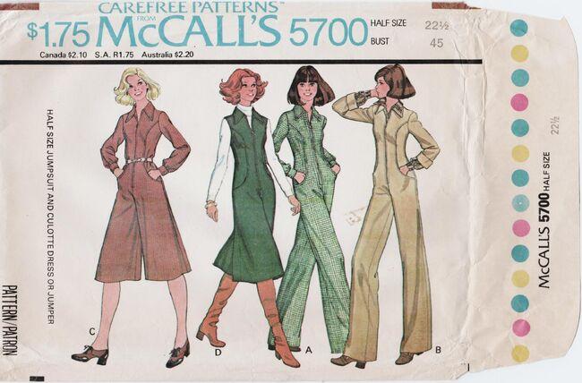 McCall's 5700 A