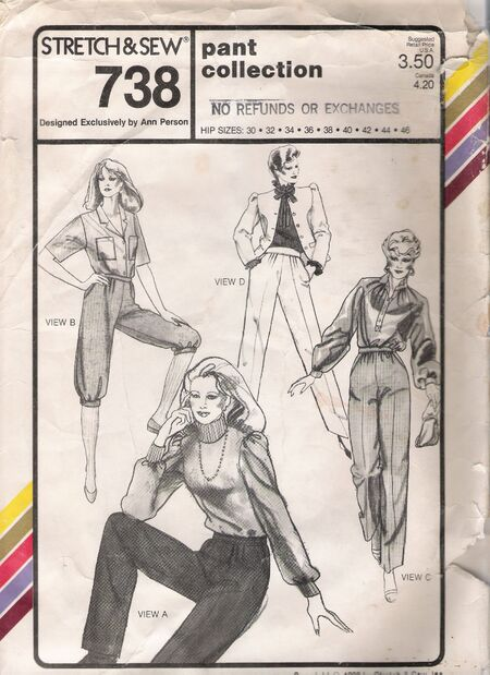 Stretch & Sew 738 image