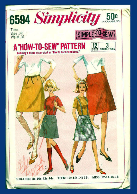 Simp 6594 skirt