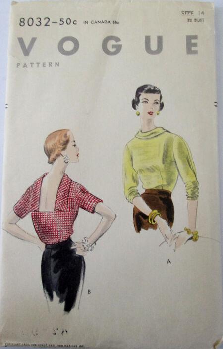 Vogue 8032