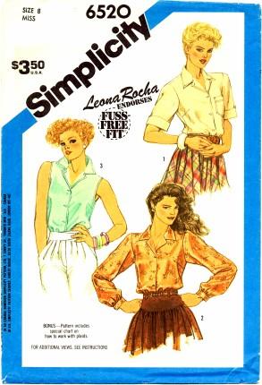 Simplicity 1984 6520