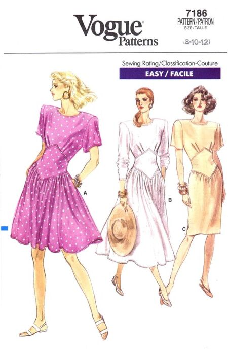 Vogue 1988 7186