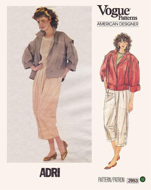 Vogue 2953 Adri front