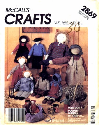 McCalls 1986 2869