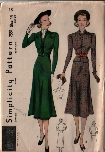 Simplicity 2551 front