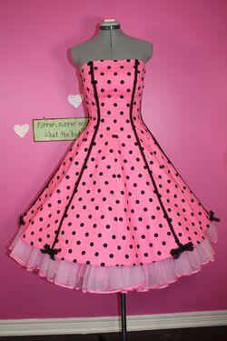 Simplicity 1189 - Polka Dot Candy Dress
