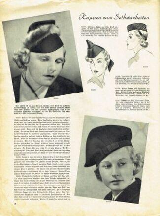 Praktische Damen und Kinder Mode 1938 0012