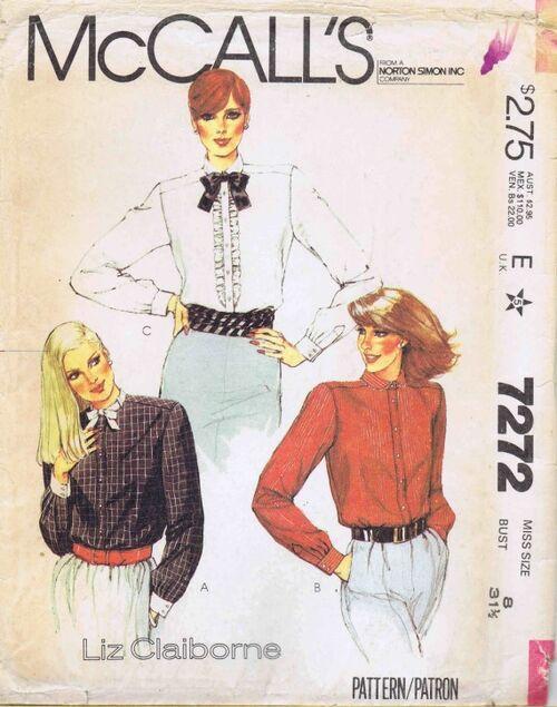 McCalls 1980 7272
