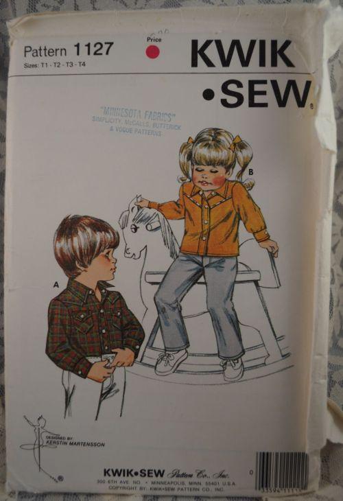Kwik sew western 1127 resized