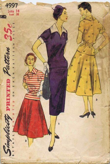 Simplicity 1954 4997