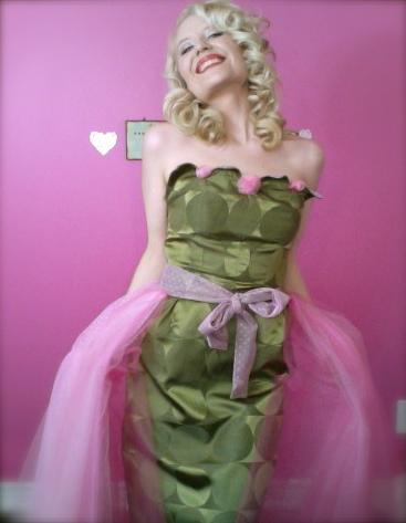 Petal Bust Dress 2