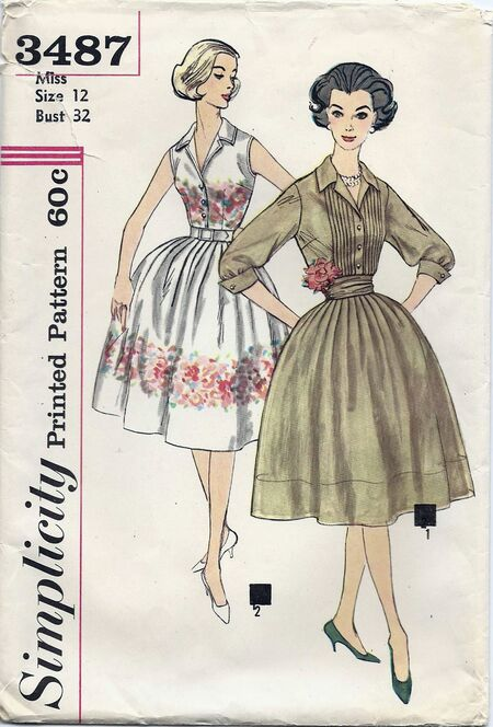 Simplicity pattern 3487 a