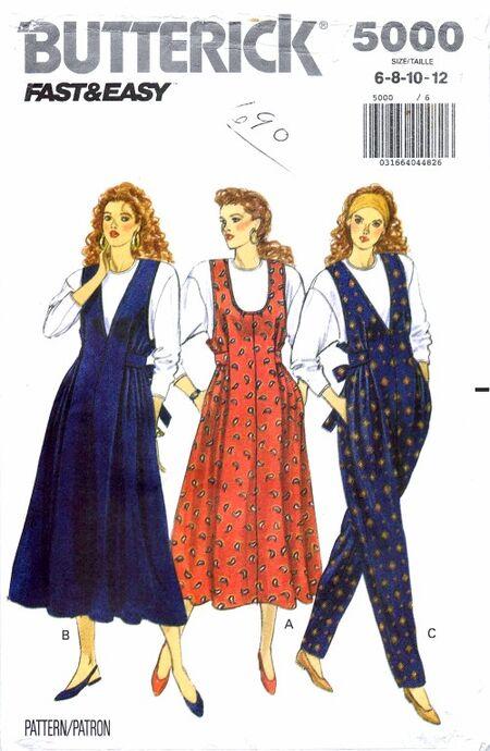 Butterick 1990 5000