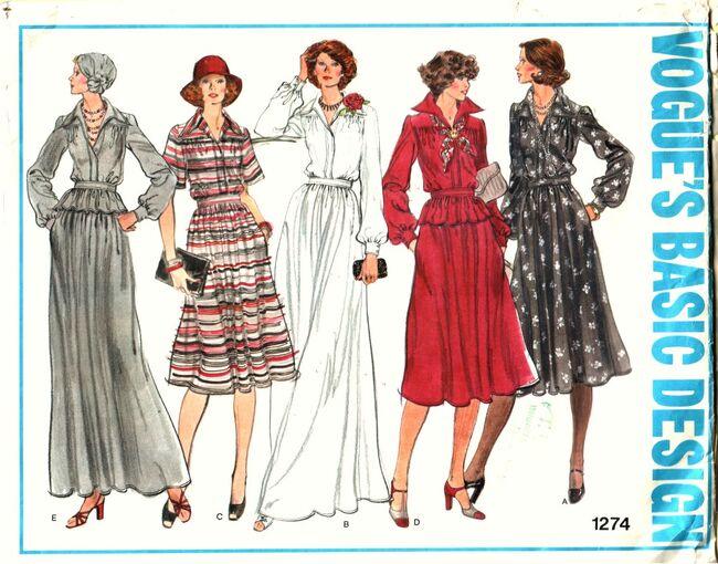 Vogue 1274 Dress FRONT