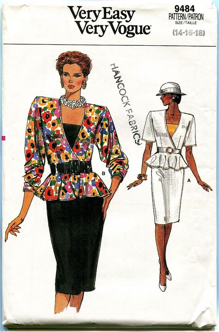 Vogue 9484 at Design Rewind Fashions on Etsy a