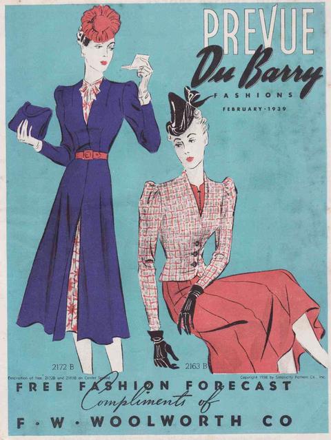DuBarry Prevue Feb. 1939