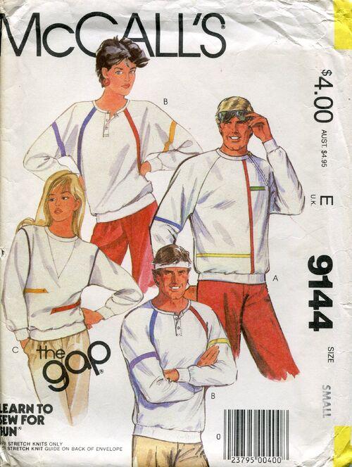 Mccalls9144shirts