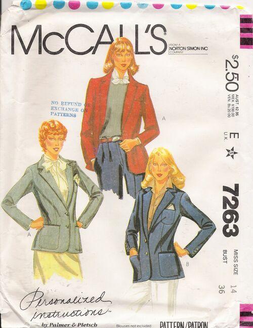 McCall's 7263 image