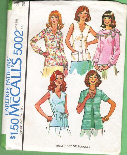 McCall's 5002