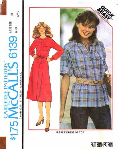 McCalls 1978 6139