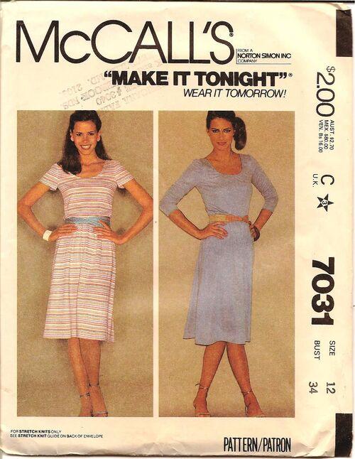 Mccalls 7031