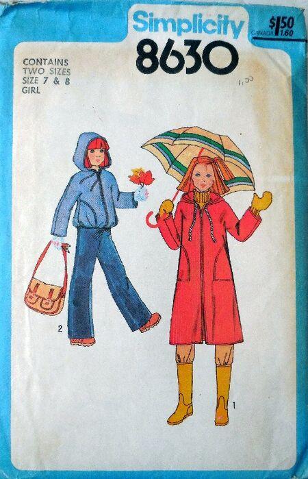 Simp raincoats 8630 b small
