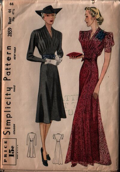 Simplicity 2859 front