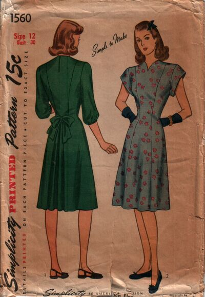 Simplicity 1560 front