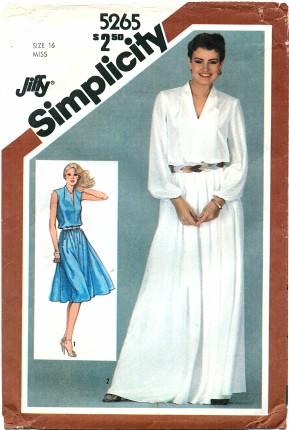 Simplicity 5265