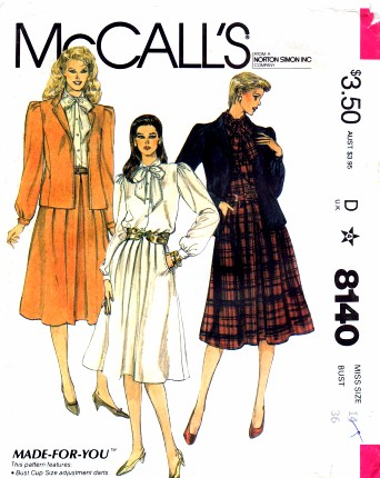 McCalls 1982 8140