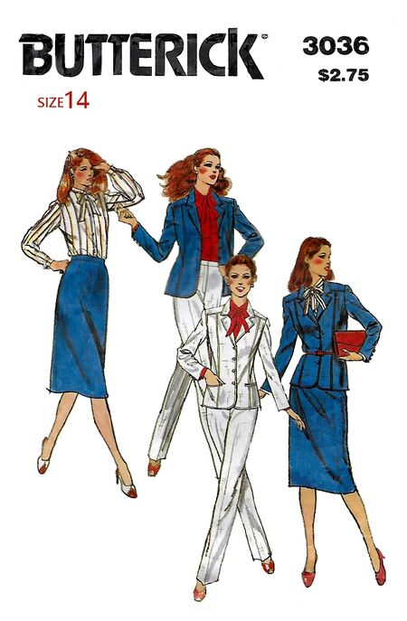 Butterick 3036 front A