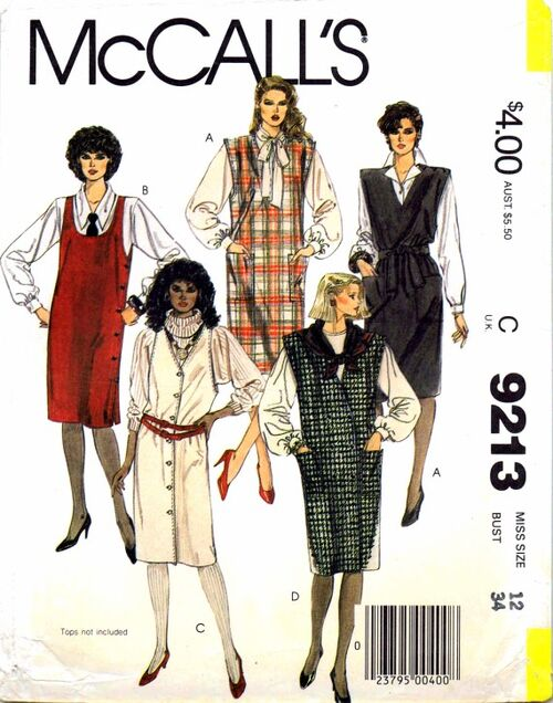 McCalls 1984 9213