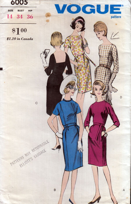 Vintage vogue patterns PenelopeRose