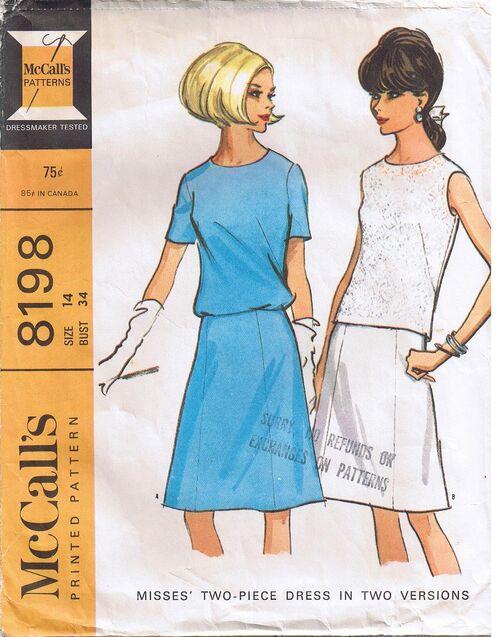McCall's 8198