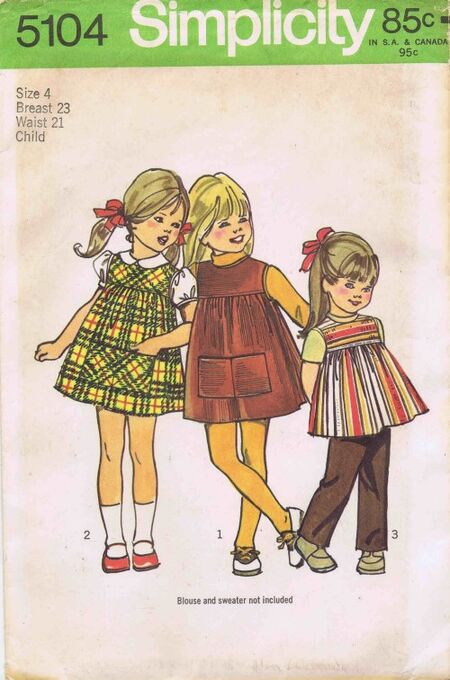 Simplicity 1972 5104