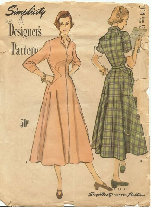 Pattern simplicity 8114a