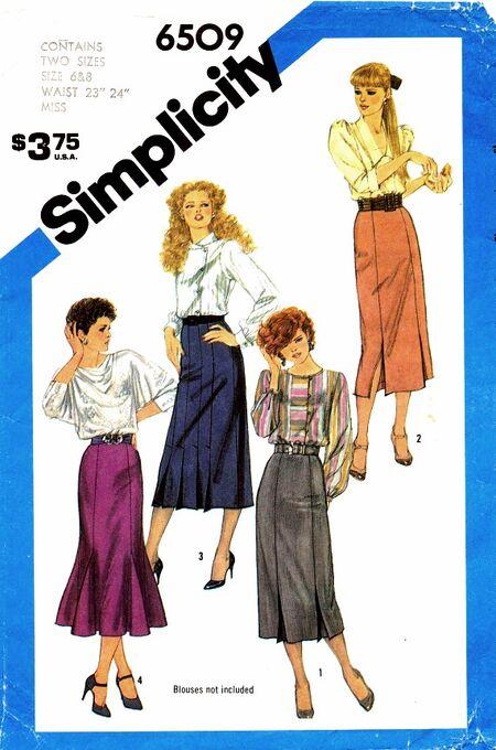 Simplicity 1984 6509 C