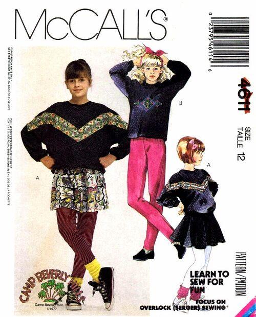 McCalls 1989 4611