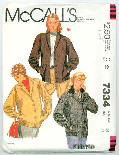 McCalls 7334