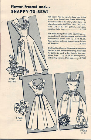 Mail Order 7223 7245 7382 Mail Order Pattern