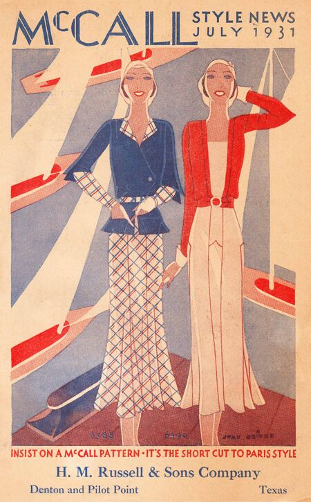 McCall Style News July, 1931