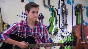"Violetta 2 English - Leon singing ""Between Two Worlds"""