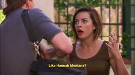 Like Hannah Montana