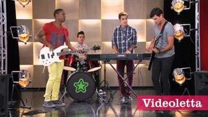 "Violetta 2 English - Guys singing ""Give me your love"""