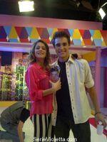 Martina and Jorge at The U-Mix Show (2)