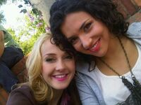 Mechi and Alba