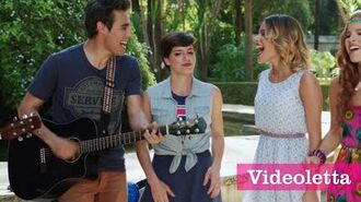 "Violetta 3 English Guys sing ""This is the way"" Ep.79"